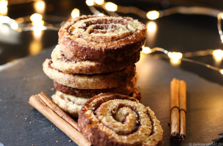 Zimtschnecken Kekse – ein Stück hoher Norden