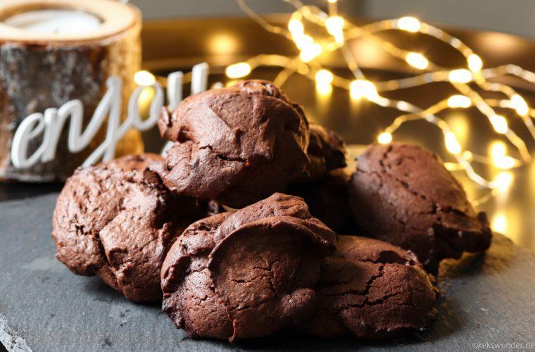 Mousse au Chocolat Kekse – mega schokoladig