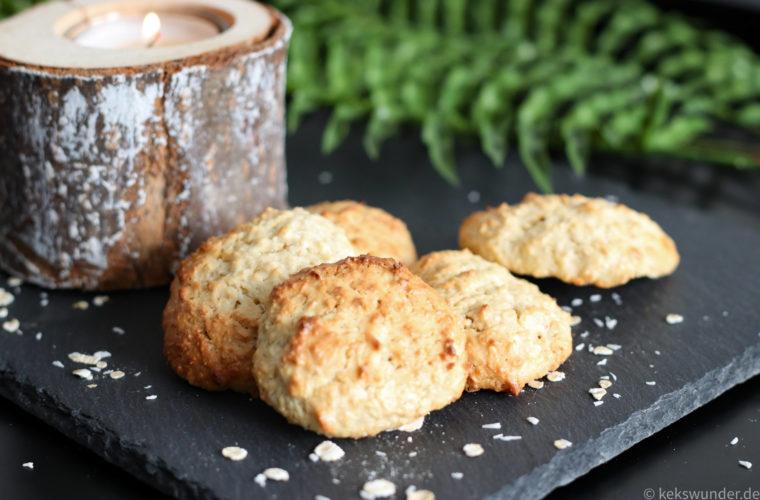 Haferflocken Kokos Kekse mit Joghurt