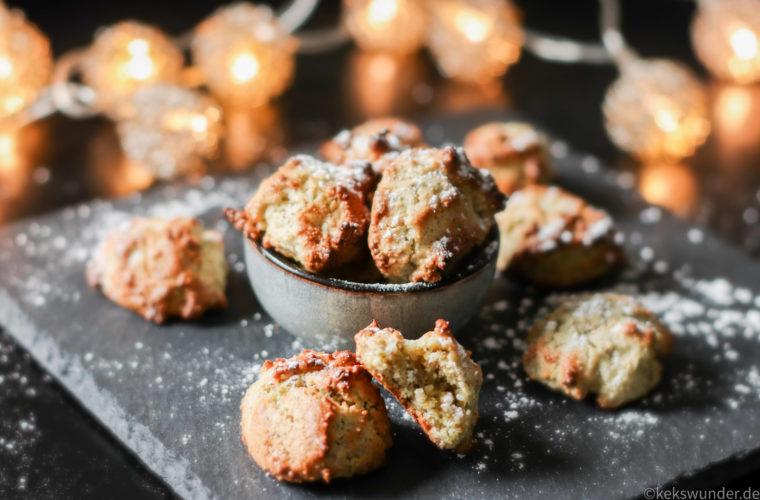 Pistazien Mandel Kekse  – wie ich Eiklar verwerte