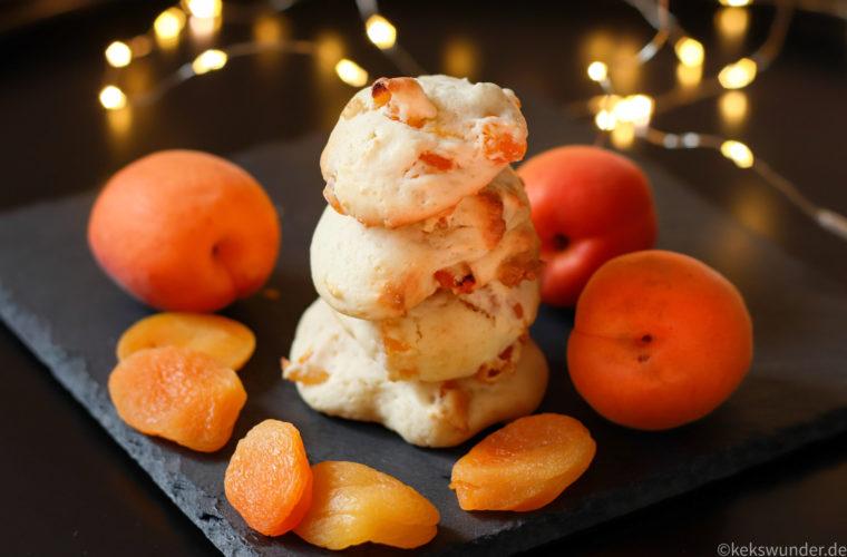 Mascarpone Kekse mit Aprikosen