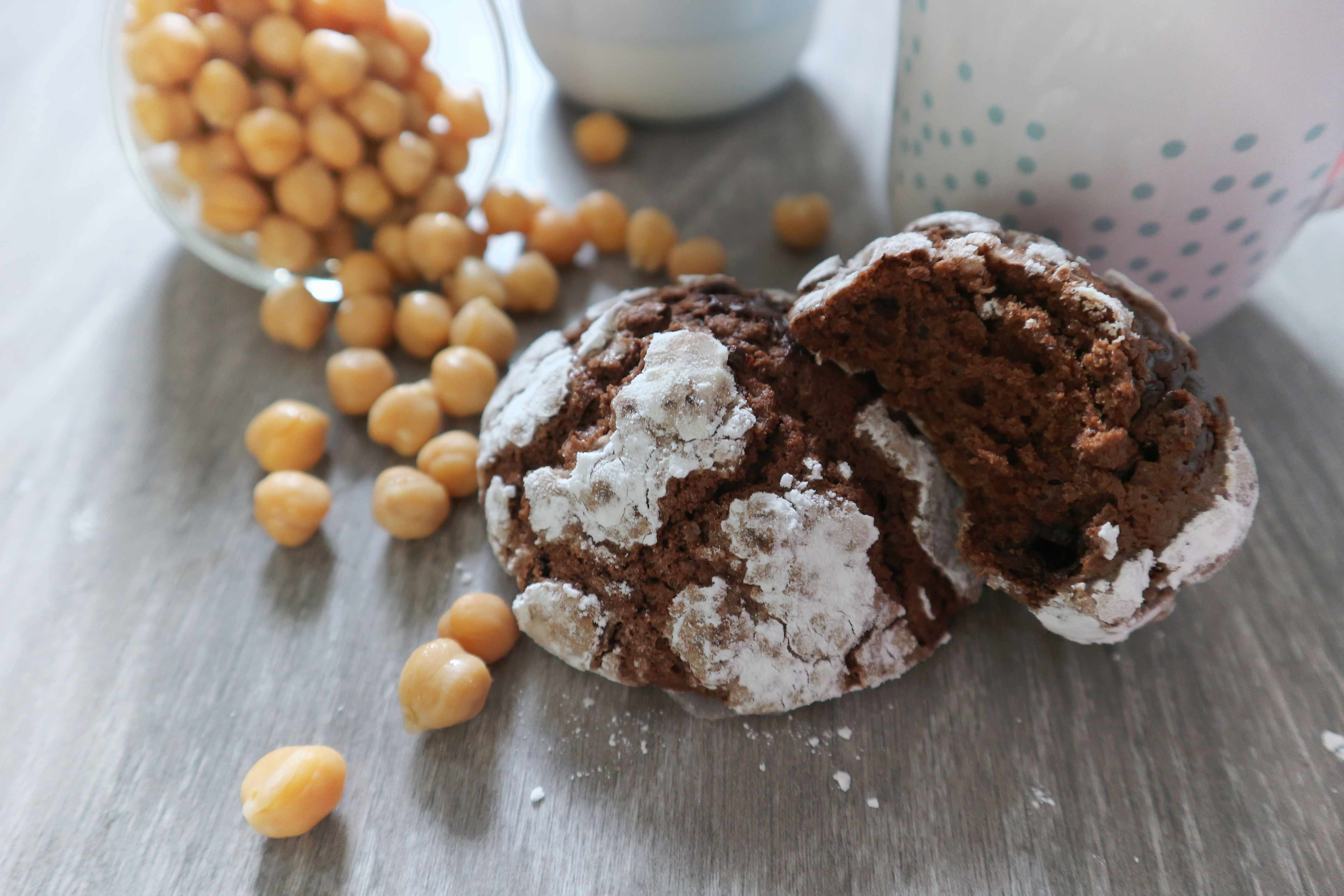 Kichererbsen Kekse – schokoladig durch und durch