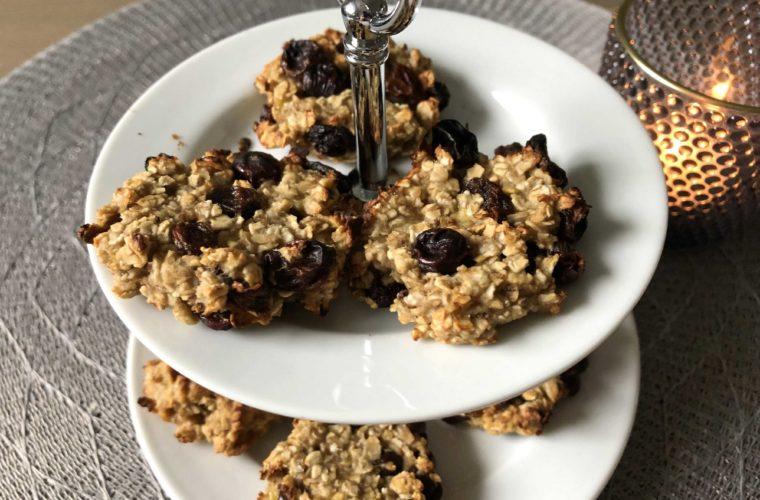 Bananen Haferflocken Kekse  –  happy tummy cookies