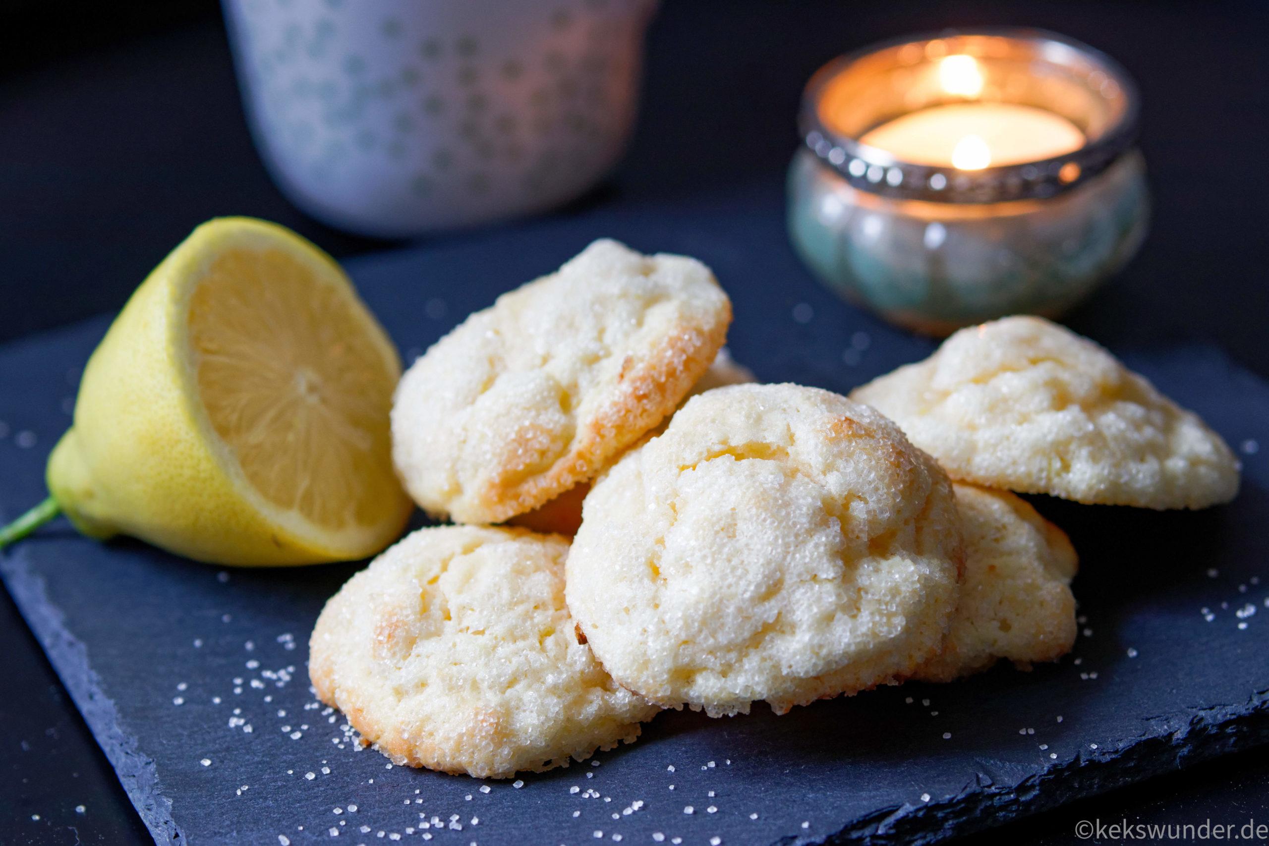 Zitronen Kekse mit Frischkäse